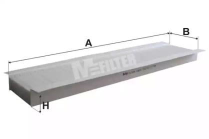 K972 MFILTER Фильтр, воздух во внутренном пространстве