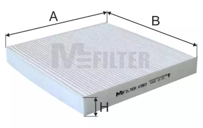 K983 MFILTER Фильтр, воздух во внутренном пространстве