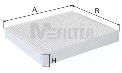 K984 MFILTER Фильтр, воздух во внутренном пространстве