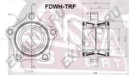 FDWHTRF ASVA Ступица колеса