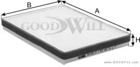 Автозапчасть/Фильтры салона стандартные GOODWILL AG1059CF для авто  с доставкой