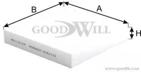AG131CF GOODWILL Фильтр, воздух во внутренном пространстве