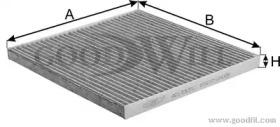 AG173CFC GOODWILL Фильтр, воздух во внутренном пространстве
