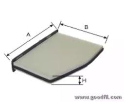 AG257CF GOODWILL Фильтр, воздух во внутренном пространстве