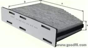 AG282CFC GOODWILL Фильтр, воздух во внутренном пространстве