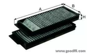 AG3422KCFC GOODWILL Фильтр, воздух во внутренном пространстве