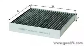 AG393CFC GOODWILL Фильтр, воздух во внутренном пространстве