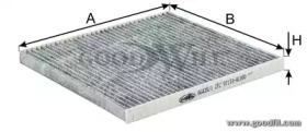 Автозапчасть/Фильтры салона угольные GOODWILL AG4351CFC для авто  с доставкой