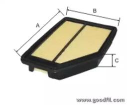 Автозапчасть/Фильтры воздушные GOODWILL AG5541 для авто  с доставкой