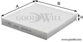 Автозапчасть/Фильтры салона стандартные GOODWILL AG5642CF для авто  с доставкой