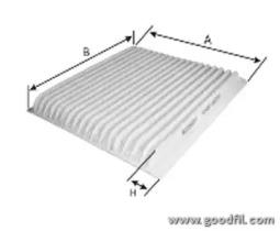 Автозапчасть/Фильтры салона стандартные GOODWILL AG5662CF для авто  с доставкой