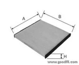Автозапчасть/Фильтры салона стандартные GOODWILL AG5812CF для авто  с доставкой