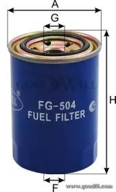 FG504 GOODWILL Топливный фильтр