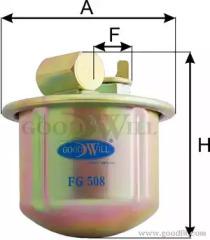 FG508 GOODWILL Топливный фильтр
