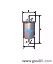 FG701 GOODWILL Топливный фильтр