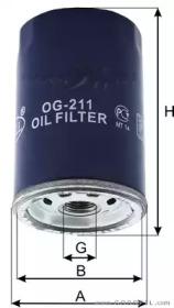 OG211 GOODWILL Масляный фильтр
