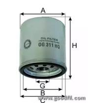 OG311HQ GOODWILL Масляный фильтр