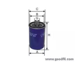 OG503 GOODWILL Масляный фильтр