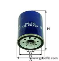 Автозапчасть/Фильтры маслянные GOODWILL OG5222 для авто  с доставкой