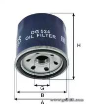 OG524 GOODWILL Масляный фильтр