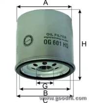 OG601HQ GOODWILL Масляный фильтр