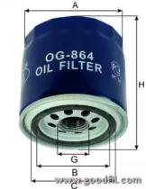 OG864 GOODWILL Масляный фильтр