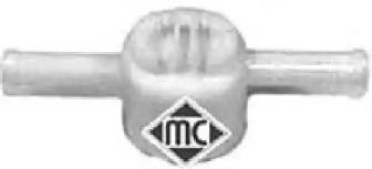 03672 METALCAUCHO Клапан, топливный фильтр