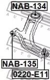 0220E11 FEBEST Несущий / направляющий шарнир -1
