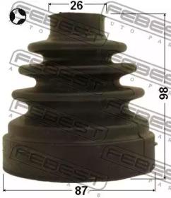 Пыльник Шpус Внутpенний Комплект 87X98X2 FEBEST 2115CA223LHT для авто  с доставкой-1