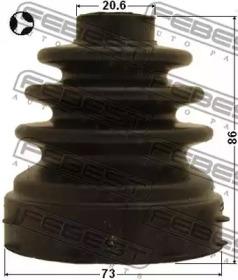 Пыльник Шрус Внутренний (73X86.3X20.6) Комплект (Ford Focus Cb4 2008-2011) FEBEST 2115CB320ATT для авто  с доставкой-1