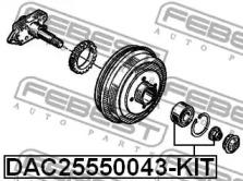 DAC25550043KIT FEBEST Комплект подшипника ступицы колеса -1
