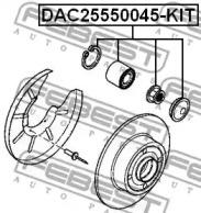 DAC25550045KIT FEBEST Комплект подшипника ступицы колеса -1