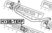 Втулка стабілізатора FEBEST HYSBTERF-1