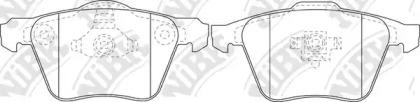 PN0352 NIBK Комплект тормозных колодок, дисковый тормоз
