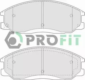 50001605 PROFIT Комплект тормозных колодок, дисковый тормоз