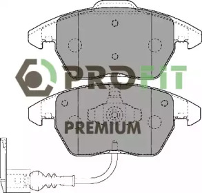 50051641 PROFIT Колодки гальмівні дискові