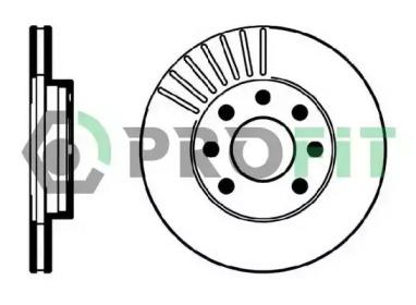 50100151 PROFIT Тормозной диск
