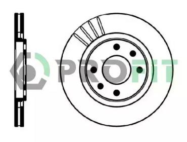50100192 PROFIT Тормозной диск