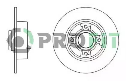 50101369 PROFIT Тормозной диск