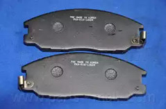 PKA016 PARTS-MALL Комплект тормозных колодок, дисковый тормоз -3