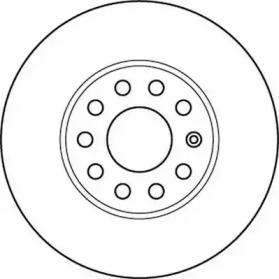 562235JC JURID Тормозной диск