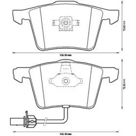 573196J JURID Комплект тормозных колодок, дисковый тормоз