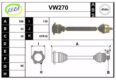 VW270 SERA