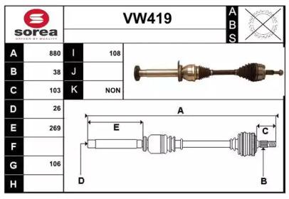VW419 SERA
