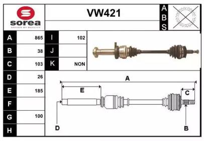 VW421 SERA
