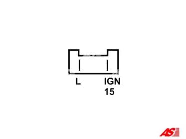 ARE0037 AS-PL Регулятор генератора