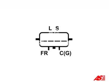 ARE5021 AS-PL Регулятор генератора