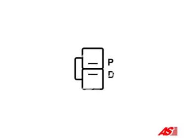 ARE5042 AS-PL Регулятор генератора -2