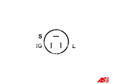 ARE6001 AS-PL Регулятор генератора