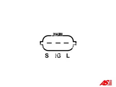 ARE6002 AS-PL Регулятор генератора